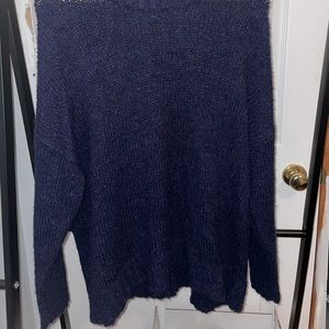 AERIE Navy knitted sweater
